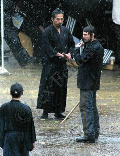 The Last Samurai - Behind scenes