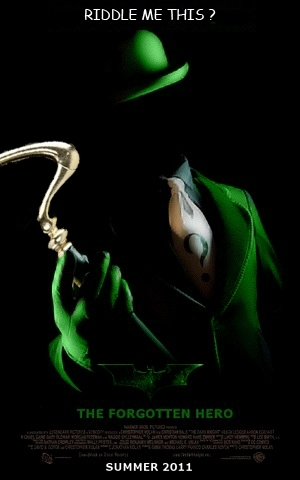 The Riddler returns