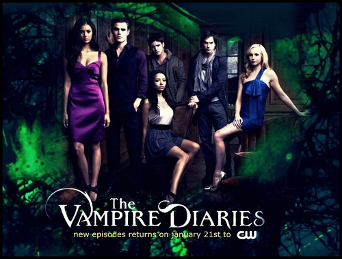 The Vampire Diaries achtergrond entitled The VD promo group