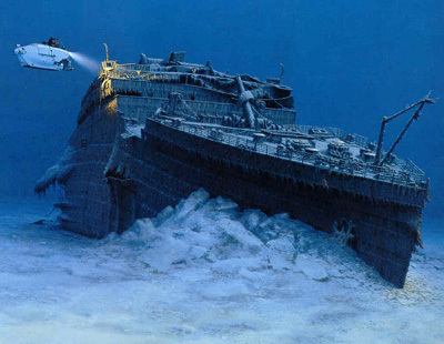 Titanic underwater - titanic Photo