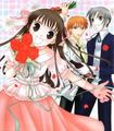 Tohru, Kyo and Yuki - fruits-basket photo