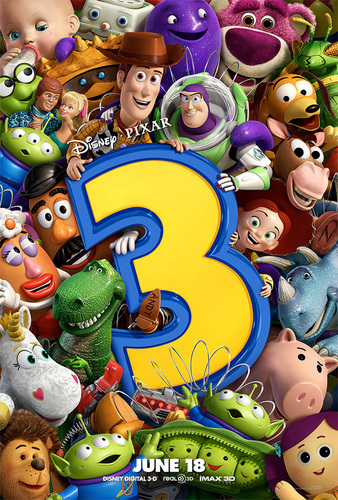 Toy Story 3 New Poster