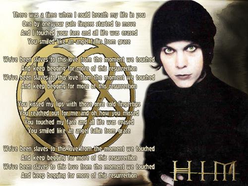 "Ville with ""Resurrection"" Lyrics"
