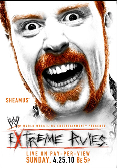 WWE Extreme Wrestling ppv poster