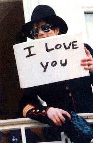 We amor tu too, Michael <3