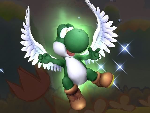 Yoshi Dragon Form