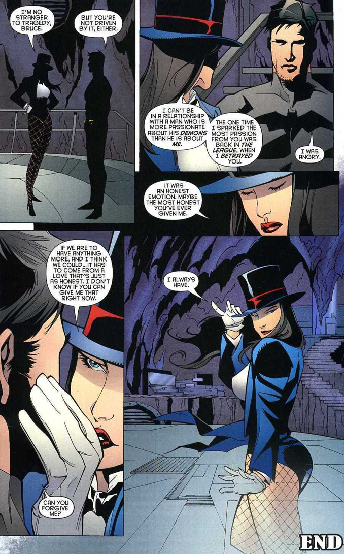 Young Justice Nightwing and Zatanna