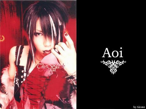 The Gazette achtergrond titled aoi