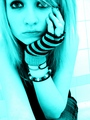 blue - emo-girls photo
