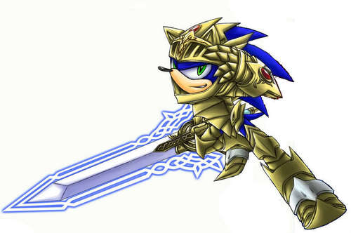 cool excalibur sonic 壁紙