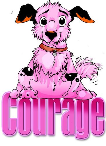 Courage the Cowardly Dog 바탕화면 entitled courage the dog 2