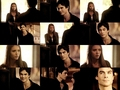 damon and elena scenes