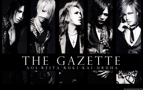The Gazette achtergrond entitled gazette