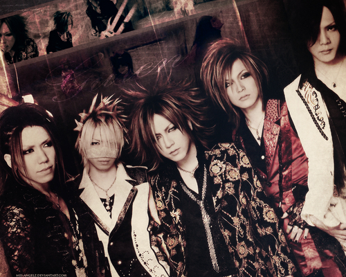 The Gazette achtergrond titled gazette