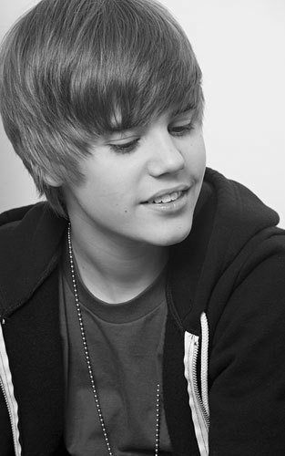 Justin Bieber images justin black and white wallpaper ...