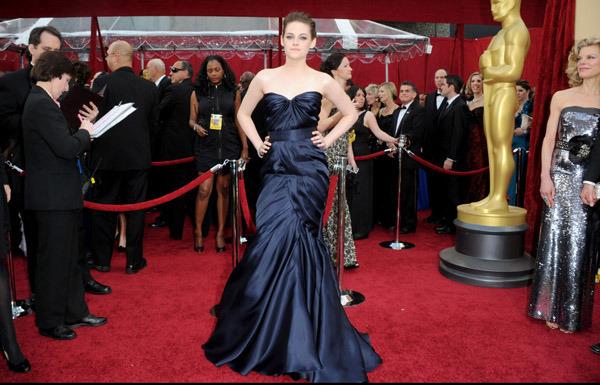 kristen stewart - 82nd Annual Academy Awards 2010