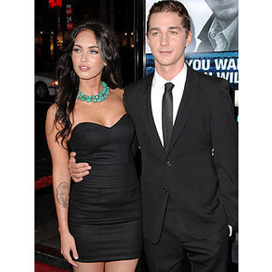 Shia LaBeouf wallpaper entitled megan fox and shia labeouf