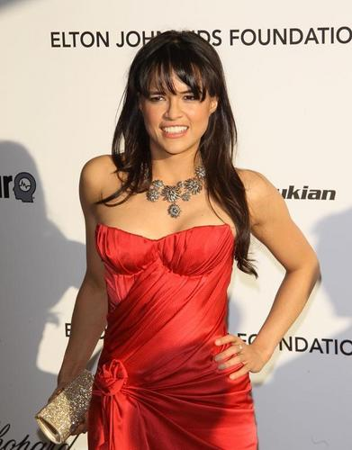 michelle rodrigues 18th Annual Elton John AIDS Foundation Academy Award Party 03-07-2010