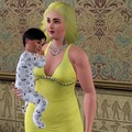 mom and son - the-sims-3 photo