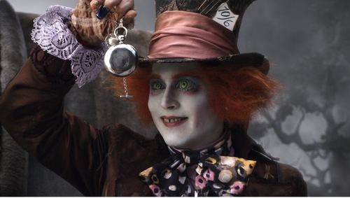 plus new Alice in Wonderland pics
