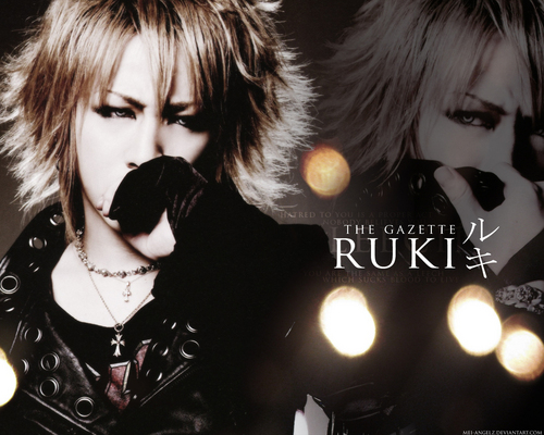 The Gazette achtergrond entitled ruki the gazette
