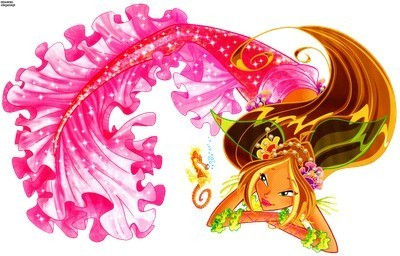 Winx Картинки с русалками и игра поцелуи с русалкой!