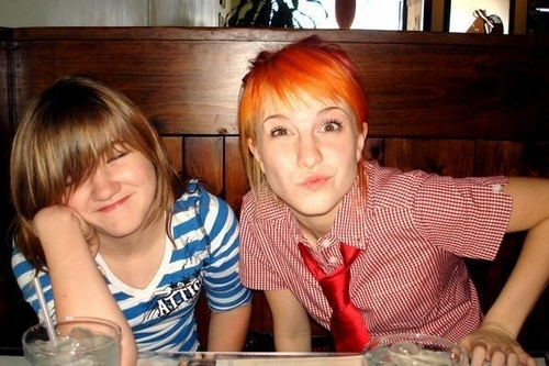 .Erika&Hayley Williams