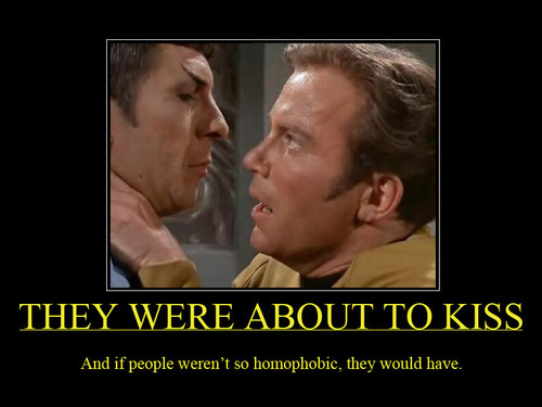 """just"" friends? - spirk Photo"