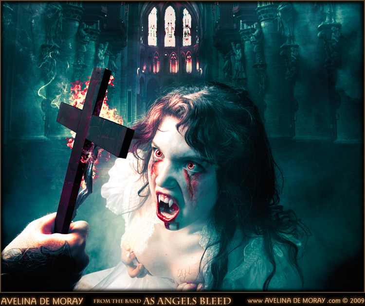 A Gothic Artwork by artist Avelina De Moray