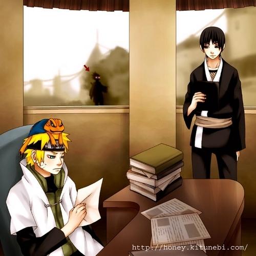 A jealous Sasuke!!  XD