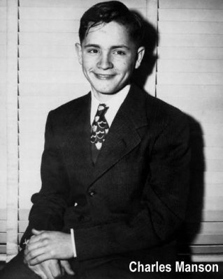 A young Charles Manson