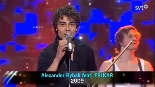 Alex at the Swedish Final 13.03.10