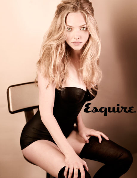 Actresses Amanda Seyfried in Esquire Magazine - April 2010 Maggie Gyllenhaal Wiki