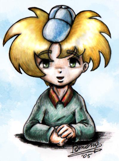 Anime-style Arnold