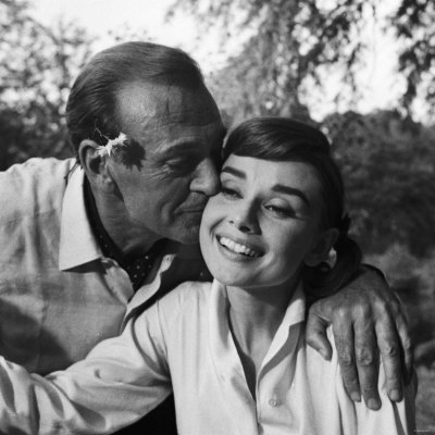 Classic Movies wallpaper called Gary Cooper And Audrey Hepburn