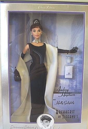 Audrey Hepburn Doll For Etie