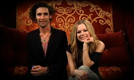 Avril and Tyson Ritter Interview - avril-lavigne Screencap
