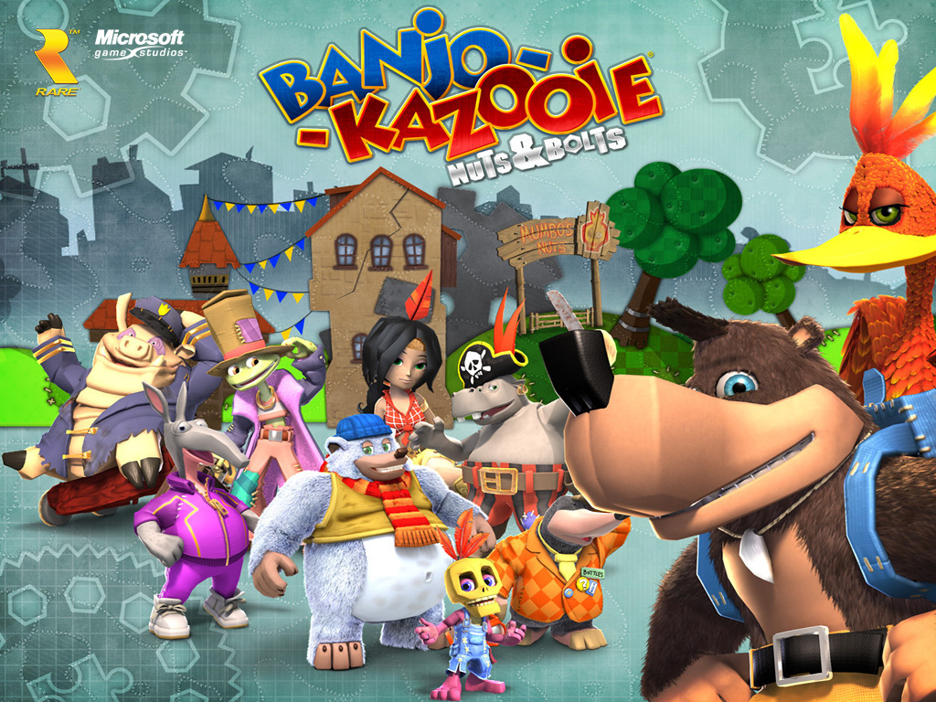 banjo kazooie images banjo kazooie nuts bolts hd wallpaper and
