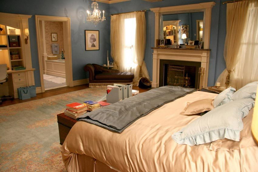 Serena gossip girl bedroom