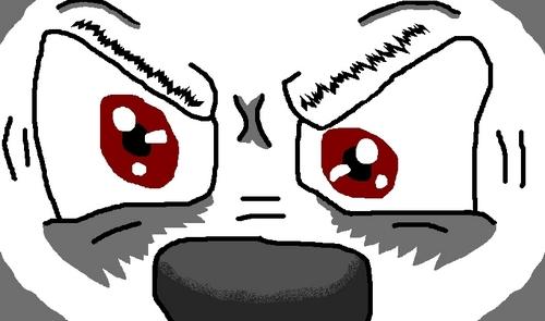 Bolt Eyes Closeup