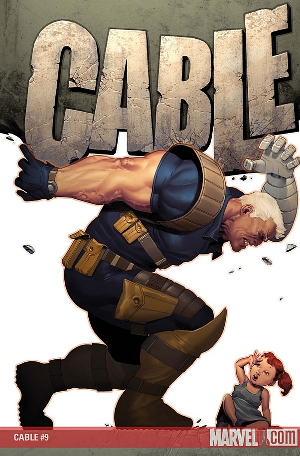 Cable and Hope 2 - Cable (Marvel Comics) Photo (10815314