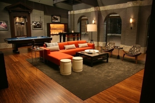 Chuck Bass's new apartment.