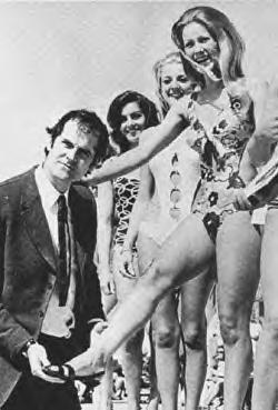 Cleese with girls