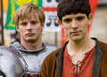 Colin and Bradley - merlin-on-bbc photo
