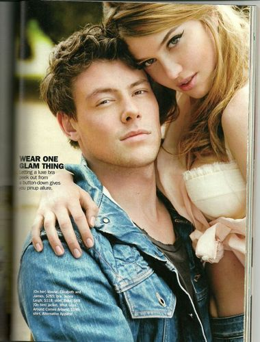 Cory Monteith achtergrond called Cory Cosmopolitan