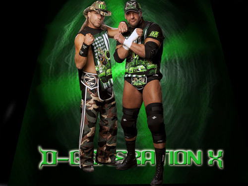 WWE wallpaper titled DX