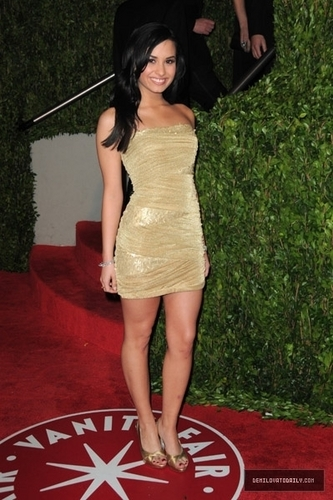 demi lovato wallpaper titled Demi Lovato Oscars Party