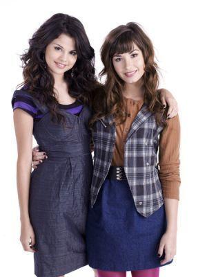 Selena Gomez wallpaper called Demi Lovato & Selena Gomez's rare shoots