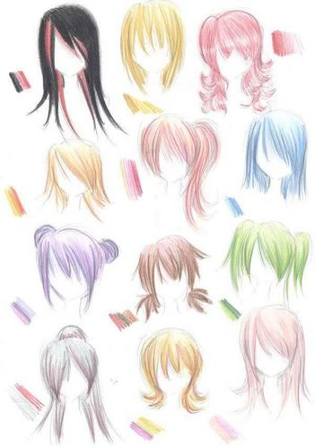 Deviantart.com (More Hairstyles) <3