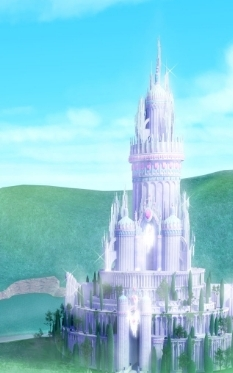 Barbie films achtergrond titled Diamond kasteel